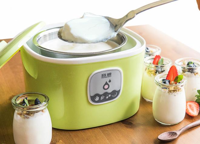 Приготовления молочного продукта «Наринэ» в йогуртице
